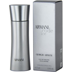 Armani Code Ice By Giorgio Armani Edt Spray 2.5 Oz