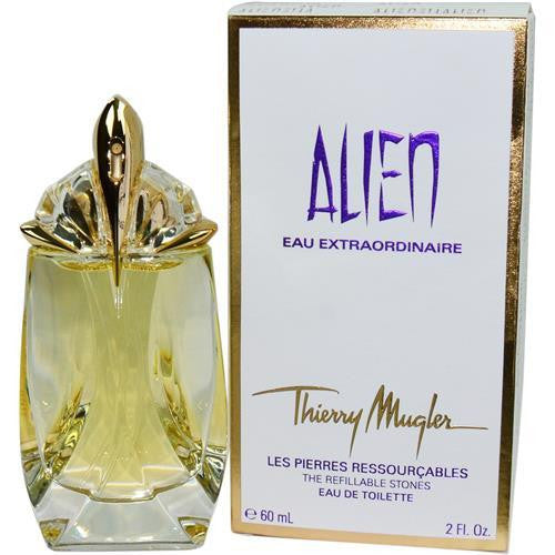 Alien Eau Extraordinaire By Thierry Mugler Edt Spray Refillable 2 Oz