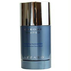 Chrome United By Azzaro Deodorant Stick  Alcohol Free 2.1 Oz