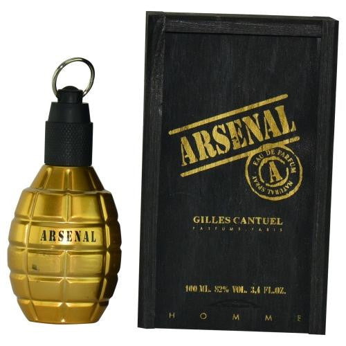 Arsenal Gold By Gilles Cantuel Eau De Parfum Spray 3.4 Oz