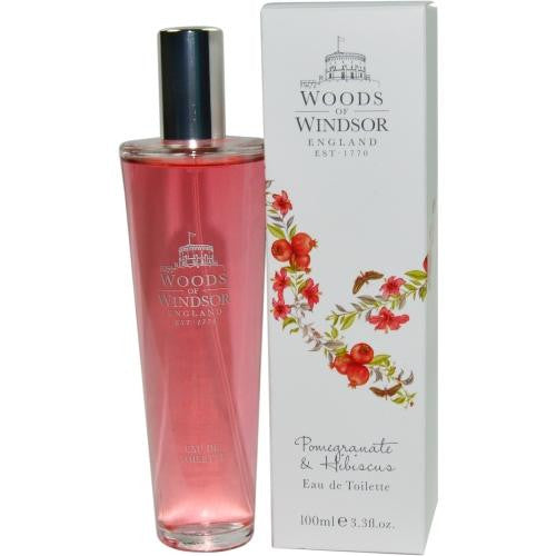 Woods Of Windsor Pomegranate & Hibiscus By Woods Of Windsor Edt Spray 3.4 Oz