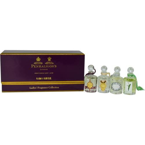 Penhaligon's Variety By Penhaligon's 4 Piece Mini Set With Artemisia & Malabah & Ellenisia & Lily Of The Valley & All Are .17 Oz Minis