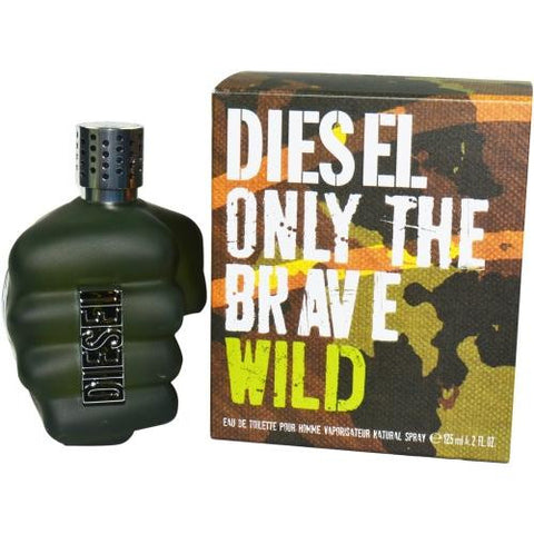 Diesel Only The Brave Wild By Diesel Edt Spray 4.2 Oz freeshipping - 123fragrance.net