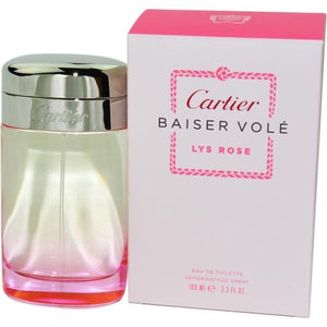 Cartier Baiser Vole Lys Rose By Cartier Edt Spray 3.3 Oz