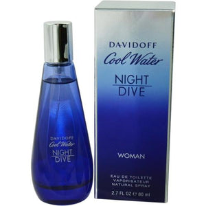 Cool Water Night Dive By Davidoff Edt Spray 2.7 Oz