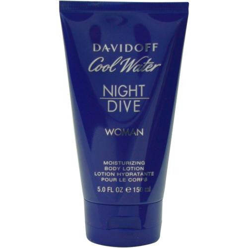 Cool Water Night Dive By Davidoff Body Lotion 5 Oz