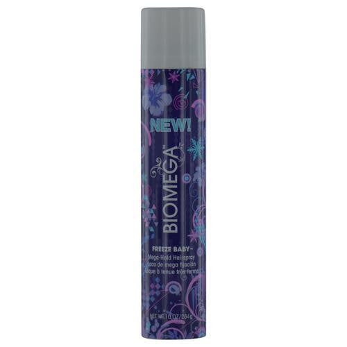 Biomega Freeze Baby Mega Hold Hairspray 10 Oz