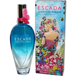 Escada Turquoise Summer By Escada Edt Spray 3.3 Oz (limited Edition)