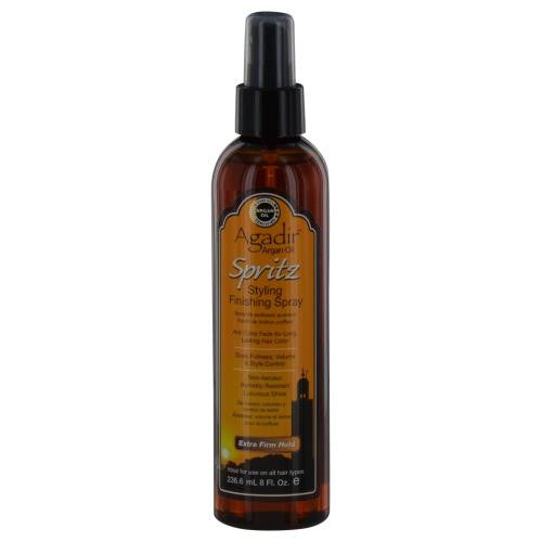 Argan Oil Spritz Extra Firm Hold Spray 8 Oz