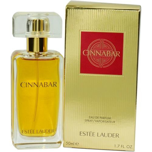 Cinnabar By Estee Lauder Eau De Parfum Spray 1.7 Oz (new Gold Packaging)