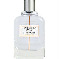 Gentlemen Only Casual Chic By Givenchy Edt Spray 3.3 Oz *tester