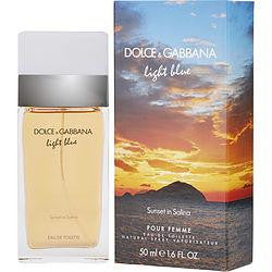 D & G Light Blue Sunset In Salina By Dolce & Gabbana Edt Spray 1.7 Oz (limited Edition)