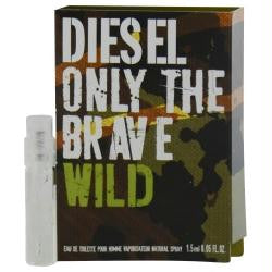 Diesel Only The Brave Wild By Diesel Edt Spray Vial On Card freeshipping - 123fragrance.net