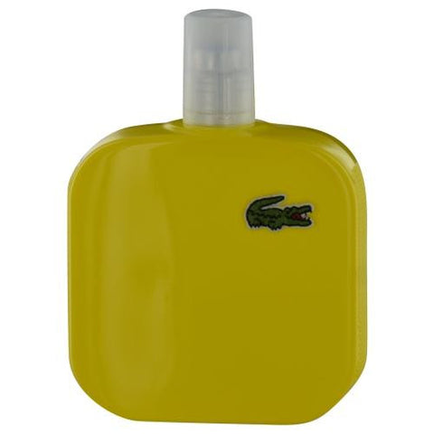 Lacoste Eau De Lacoste L.12.12 Jaune By Lacoste Optimistic Edt Spray 3.3 Oz *tester