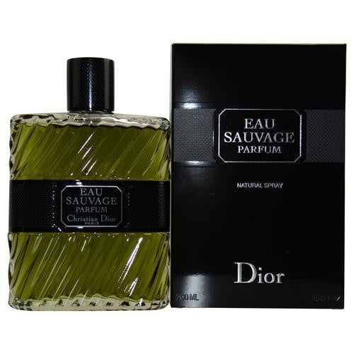 Eau Sauvage Parfum By Christian Dior Eau De Parfum Spray 6.8 Oz