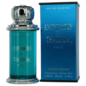 Thallium Anonymous By Jacques Evard Edt Spray 3.4 Oz (limited Edtion)