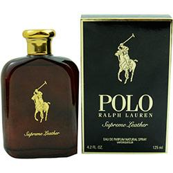 Polo Supreme Leather By Ralph Lauren Eau De Parfum Spray 4.2 Oz