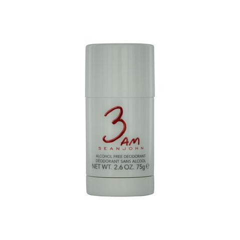 Sean John 3 Am By Sean John Deodorant Stick Alcohol Free 2.6 Oz