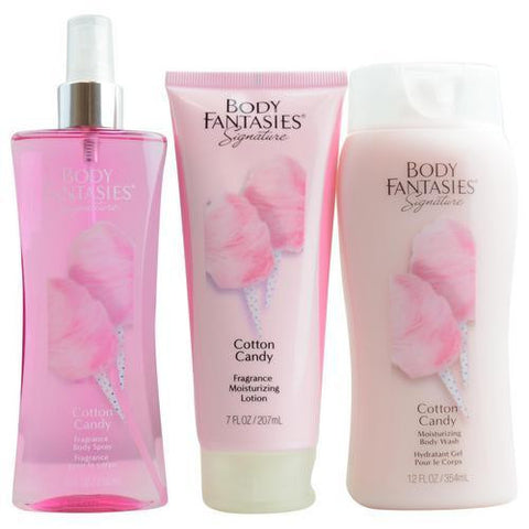 Body Fantasies Gift Set Body Fantasies Cotton Candy By Body Fantasies freeshipping - 123fragrance.net