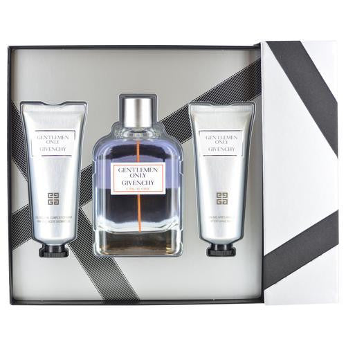 Gentlemen Only Casual Chic By Givenchy Edt Spray 3.3 Oz & Aftershave Balm 2.5 Oz & Hair And Shower Gel 2.5 Oz