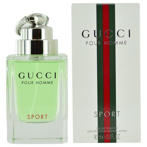 Gucci By Gucci Sport By Gucci Edt Spray 3 Oz (new Packaging)