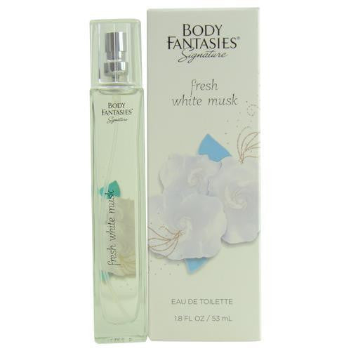 Body Fantasies Fresh White Musk By Body Fantasies Edt Spray 1.8 Oz
