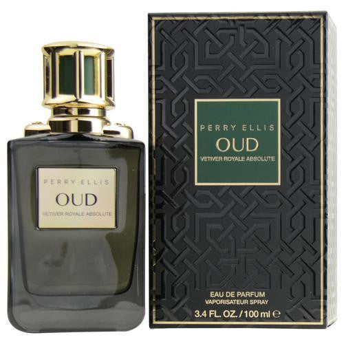 Perry Ellis Oud Vetiver Royale Absolute By Perry Ellis Eau De Parfum Spray 3.4 Oz