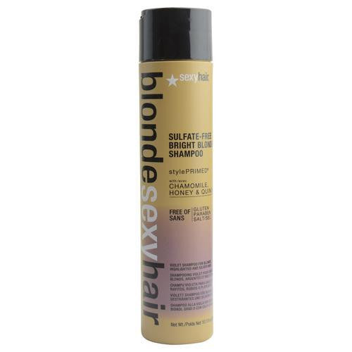 Blonde Sexy Hair Sulfate-free Bright Blonde Shampoo (violet) 10.1 Oz freeshipping - 123fragrance.net