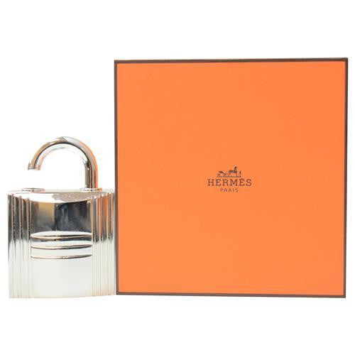 Hermes By Hermes Silver Tone Refillable Lock Spray .25 Oz (empty Flacon)