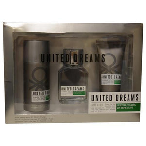 Benetton Gift Set Benetton United Dreams Aim High By Benetton