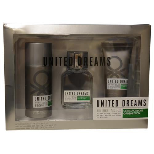 Benetton Gift Set Benetton United Dreams Aim High By Benetton freeshipping - 123fragrance.net