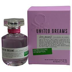 Benetton United Dreams Love Yourself By Benetton Edt Spray 1.7 Oz