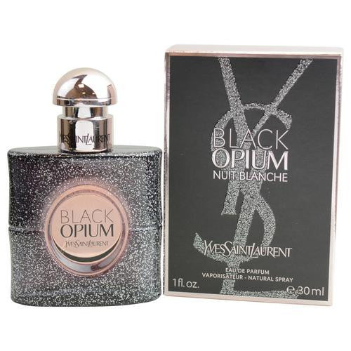 Black Opium Nuit Blanche By Yves Saint Laurent Eau De Parfum Spray 1 Oz