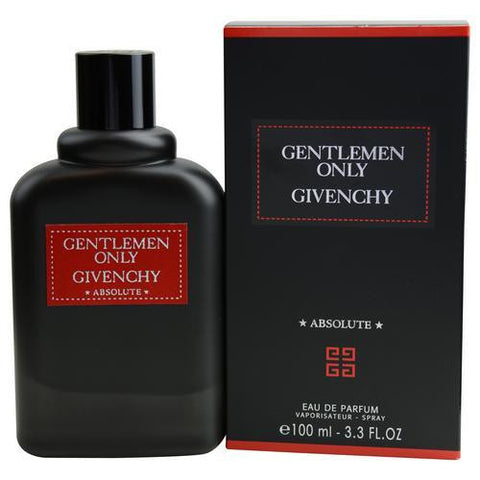 Gentlemen Only Absolute By Givenchy Eau De Parfum Spray 3.3 Oz