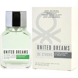 Benetton United Dreams Be Strong By Benetton Edt Spray 3.4 Oz*tester