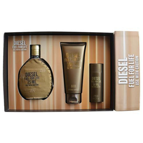 Diesel Gift Set Diesel Fuel For Life By Diesel freeshipping - 123fragrance.net