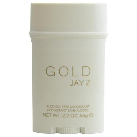 Jay Z Gold By Jay-z Deodorant Stick Alcohol Free 2.2 Oz