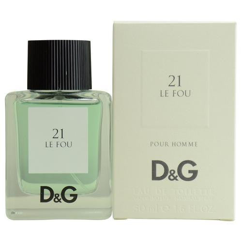 D & G 21 Le Fou By Dolce & Gabbana Edt Spray 1.6 Oz