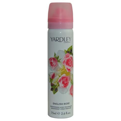 Yardley By Yardley English Rose Body Spray 2.6 Oz (new Packaging)