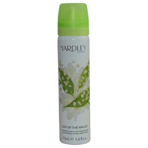 Yardley By Yardley Lily Of The Valley Body Spray 2.6 Oz (new Packaging)