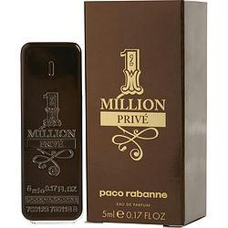 Paco Rabanne 1 Million Prive By Paco Rabanne Eau De Parfum .17 Oz Mini