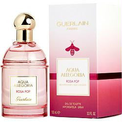 Aqua Allegoria Rosa Pop By Guerlain Edt Spray 3.3 Oz