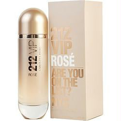 212 Vip Rose By Carolina Herrera Eau De Parfum Spray 4.2 Oz