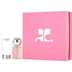 Courreges Rose De Courreges By Courreges Eau De Parfum Spray 1.7 Oz & Body Lotion 3.3 Oz