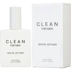 Clean White Vetiver By Dlish Edt Spray 3.4 Oz