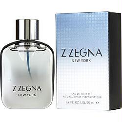 Z Zegna New York By Ermenegildo Zegna Edt Spray 1.7 Oz