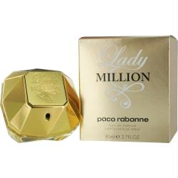 Paco Rabanne Lady Million By Paco Rabanne Eau De Parfum Spray 2.7 Oz (monopoly Collector Edition)