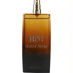 Hanae Mori Him By Hanae Mori Edt Spray 3.4 Oz *tester