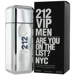 212 Vip By Carolina Herrera Edt Spray 3.4 Oz (new Packaging)