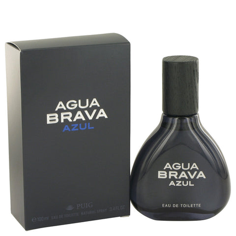 Agua Brava Azul by Antonio Puig Eau De Toilette Spray 3.4 oz for Men